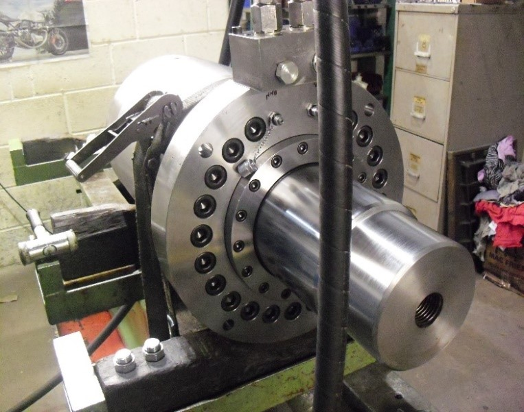 Case Study – Examples of Hydraulic Cylinders under test conditions